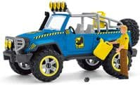 Schleich Dinosaurs Off-Road Vehichle with Dino Outpost